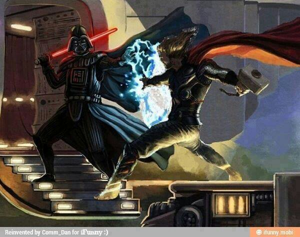 Vader VS Thor