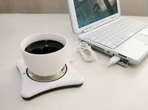 Réchaud café USB