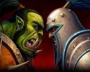 Humans vs orcs
