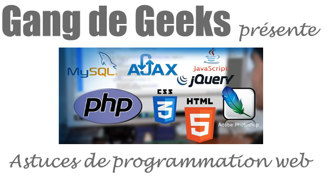 Astuces de programmation web