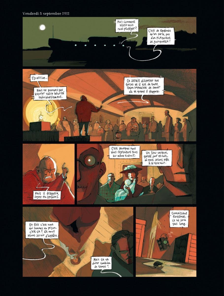 La colère de Fantomas T2 - planche 3