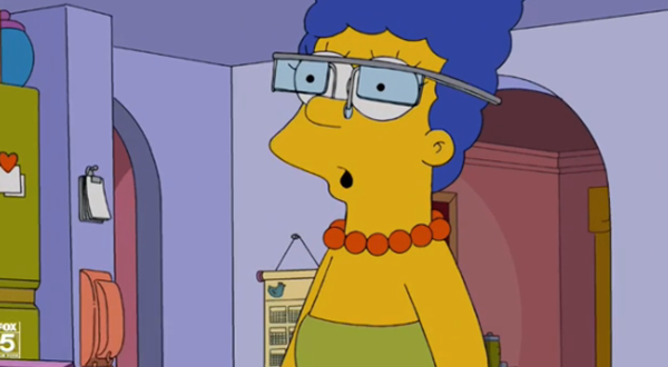 Marge et le Oogles glass