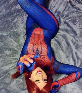 Nicole Marie Jean Spiderman