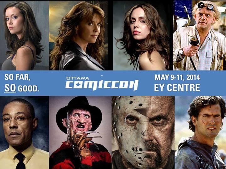 Ottawa Comiccon invités