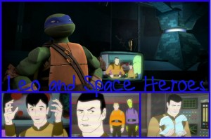 TMNT:: Leo and Space Heroes by Culinary-Alchemis