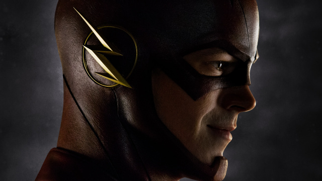 Première photo disponible de Grant Gustin incarnant The Flash dans la série Arrow