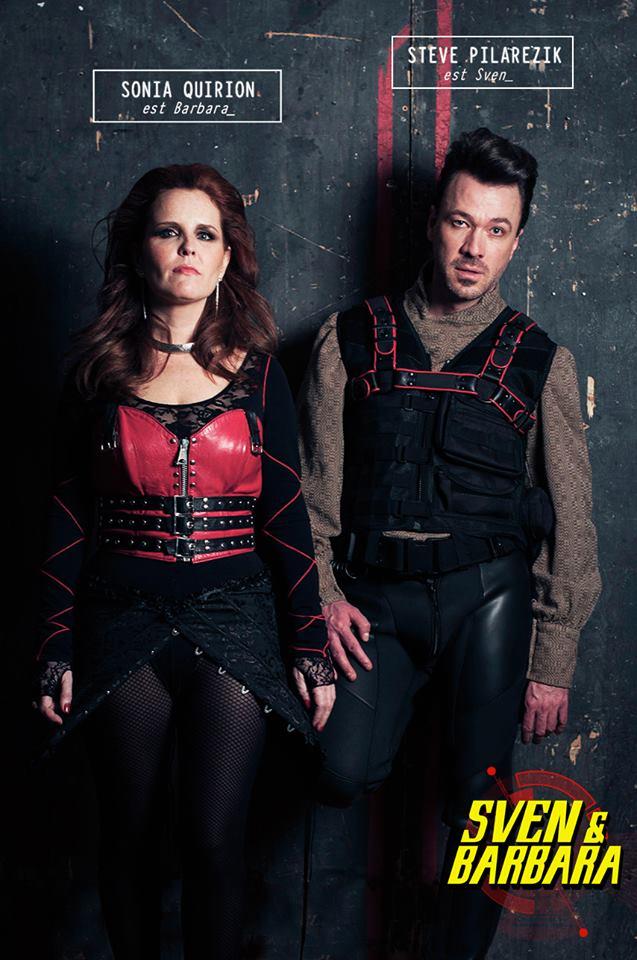 Sonia Quirion et Steve Pilarezik sont Sven et Barbara
