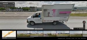 ... Ou encore ce chauffeur de camion... au même endroit mais en Juin 2012.