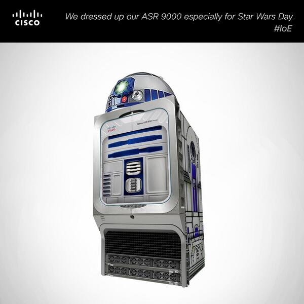 May the 4th be with you Cisco