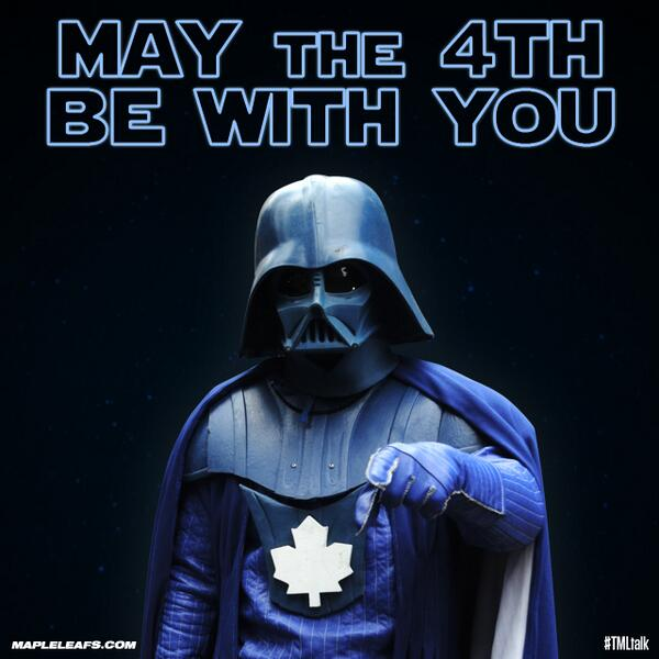 May the 4th be with you Maple Leafs (hockey)