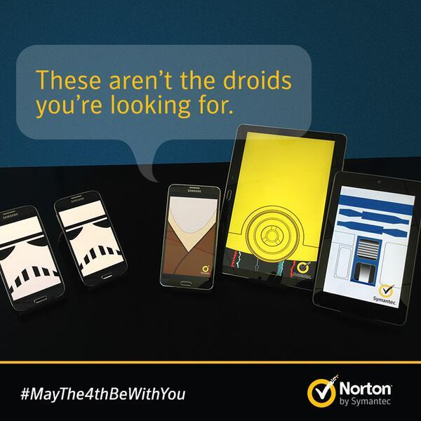 May the 4th be with you Norton