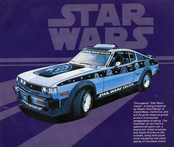 May the 4th be with you Toyota