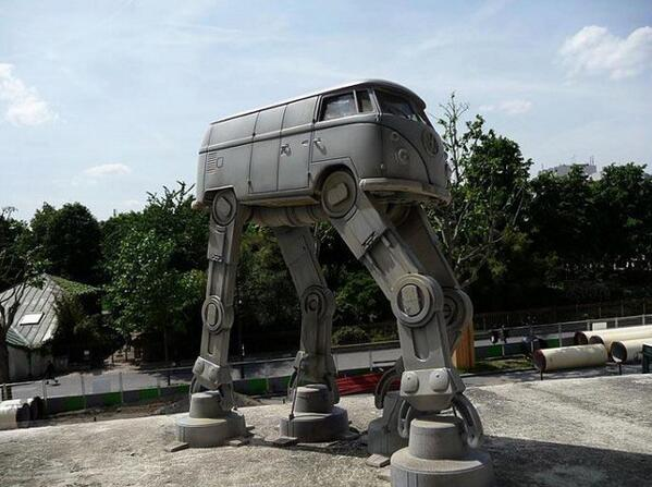 May the 4th be with you Volkswagen
