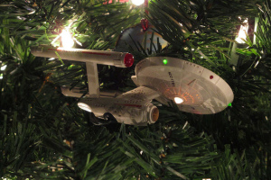 vaisseau star trek ornament